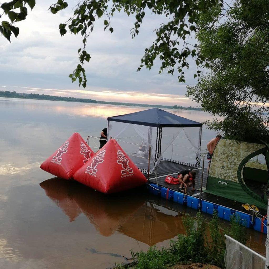 Starboard и мобильный плот